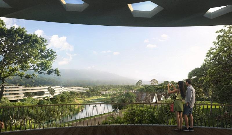 Không gian thoáng đãng dự án Legacy Hill Lương Sơn - Hòa Bình