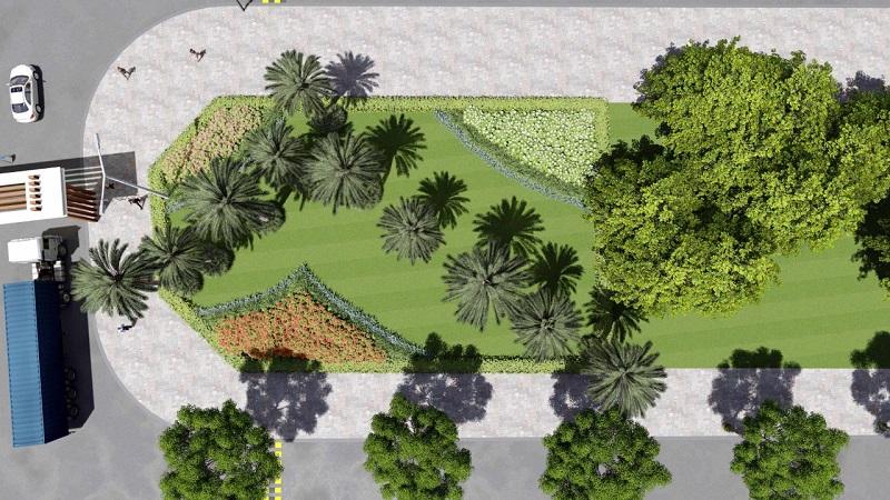 Không gian xanh khu công nghiệp Điềm Thụy - Thái Nguyên