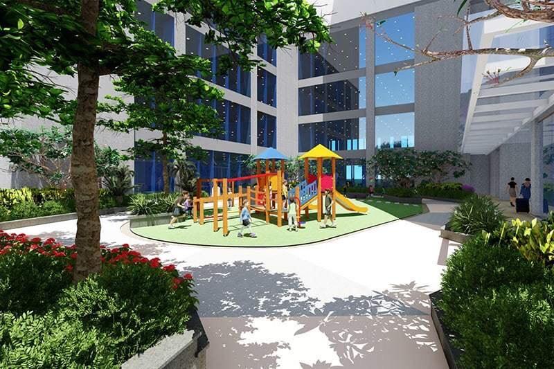 Khu vui chơi trẻ em chung cư Harmony Square 199 Nguyễn Tuân