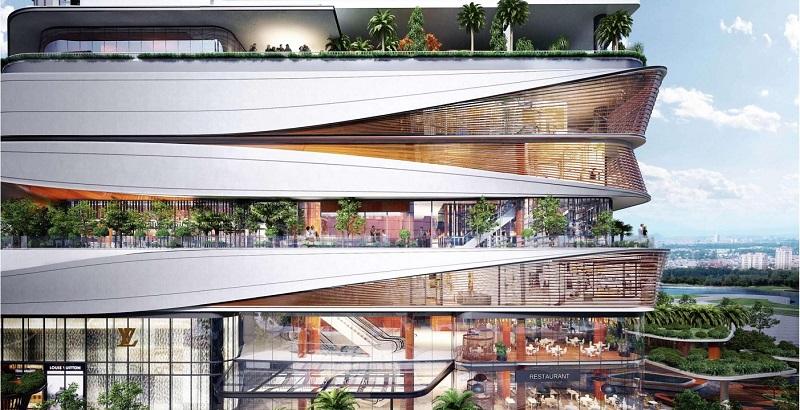 Kiến trúc dự án Han Jardin N01 T6-T7 Ngoại Giao Đoàn