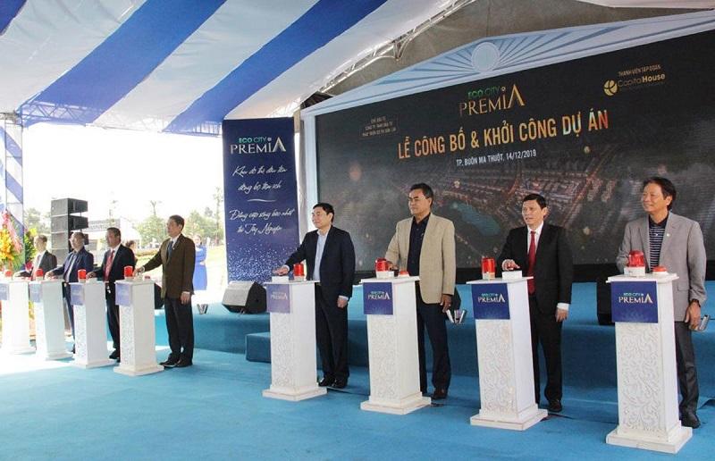 Lễ công bố và khởi công dự án Eco City Premia Buôn Ma Thuột