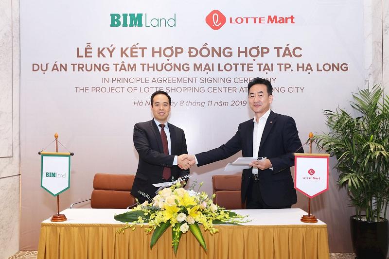 Lễ ký kết dự án TTTM LOTTE Mart Bãi Cháy - Hạ Long