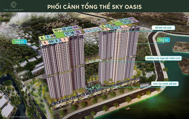 Mặt bằng căn hộ thông thường dự án Sky Oasis KDT Ecopark