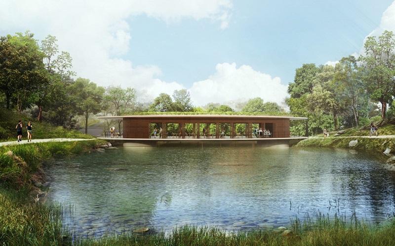 Nhà hàng dự án Legacy Hill Lương Sơn - Hòa Bình