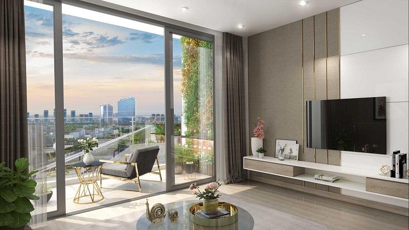 Nội thất căn hộ chung cư Harmony Square 199 Nguyễn Tuân