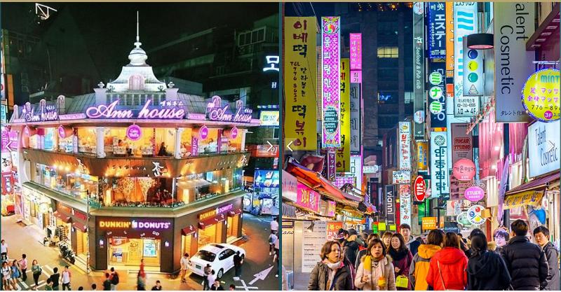 Phố đi bộ Hàn Quốc Shophouse Sky Oasis Ecopark