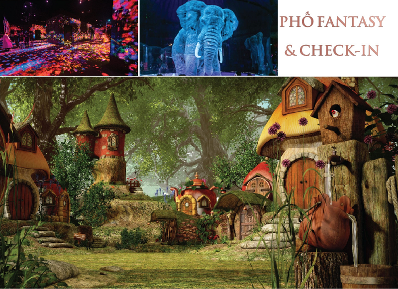 Phố Fantasy - Check-in Shophouse Sky Oasis Ecopark