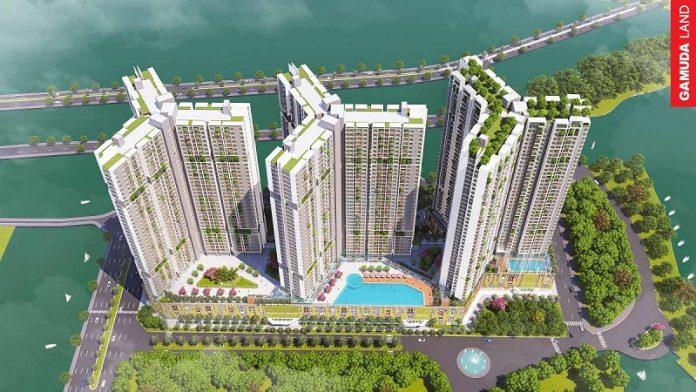 Phối cảnh 1 chung cư The Dandelion Residence Gamuda Yên Sở