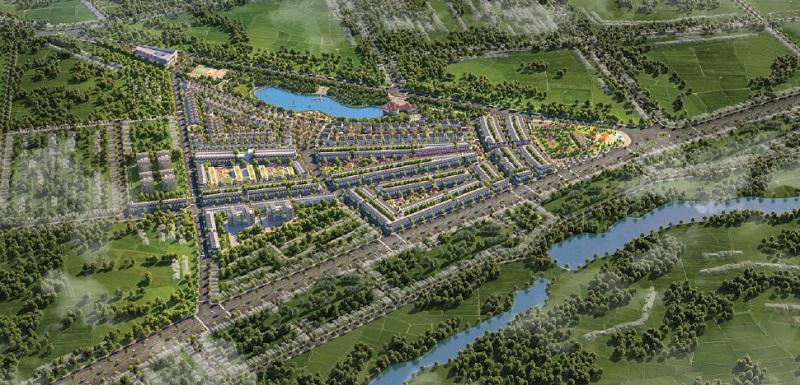 Phối cảnh 2 dự án Eco City Premia Buôn Ma Thuột