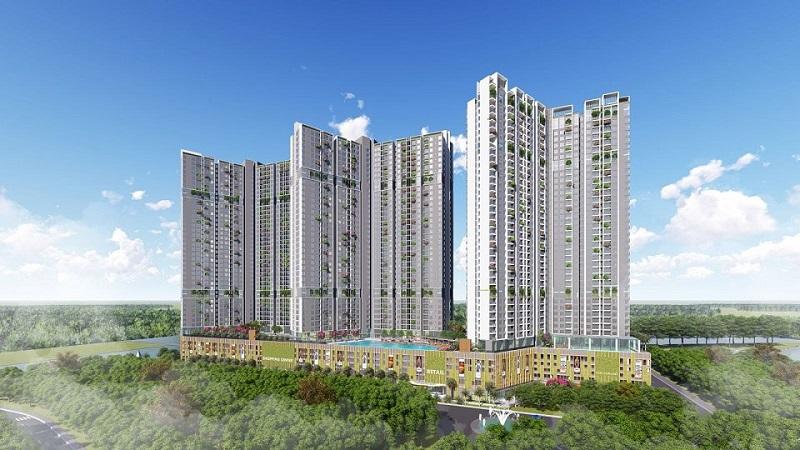 Phối cảnh 3 chung cư The Dandelion Residence Gamuda Yên Sở