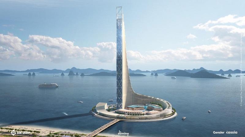 Phối cảnh 3 dự án Domino Hạ Long 99 tầng của Sungroup