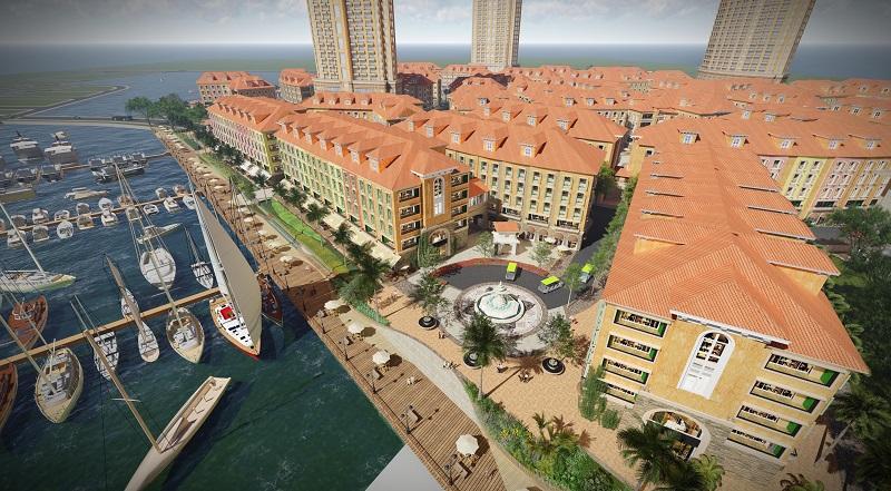 Phối cảnh 3 dự án Harbor Bay Hạ Long
