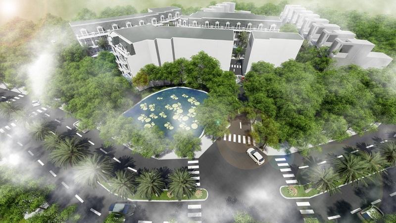 Phối cảnh 31 lô đất nền Sen Trì - Bình Yên - Thạch Thất- Hòa Lạc (2)