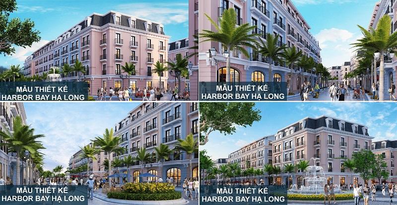 Phối cảnh 3D nhà phố dự án Harbor Bay Hạ Long