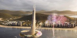 Phối cảnh 4 dự án Domino Hạ Long 99 tầng của Sungroup
