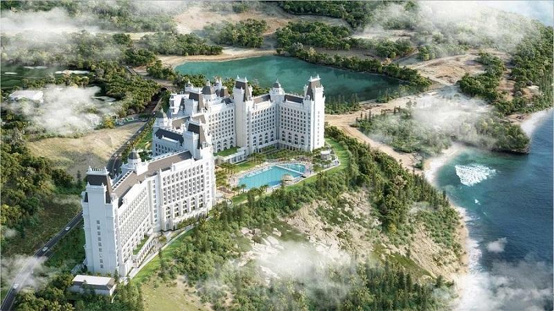 Phối cảnh 4 Condotel Vinpearl Oasis Hòn Tre - Nha Trang