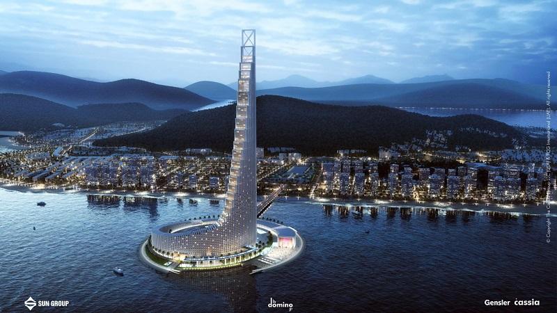 Phối cảnh 5 dự án Domino Hạ Long 99 tầng của Sungroup
