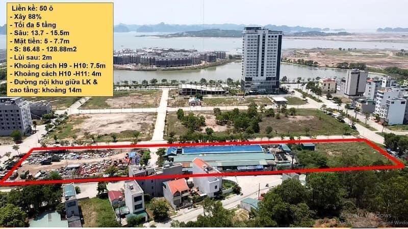 Phối cảnh 50 lô đất nền khách sạn Khu Đa Giác Tây Hùng Thắng - Bãi Cháy - Hạ Long