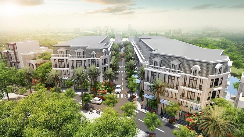 Phối cảnh 1 dự án Hòa Lạc Green 31 lô đất nền Sen Trì - Bình Yên