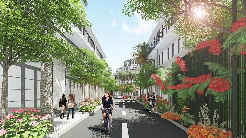 Phối cảnh 4 dự án Hòa Lạc Green 31 lô đất nền Sen Trì - Bình Yên