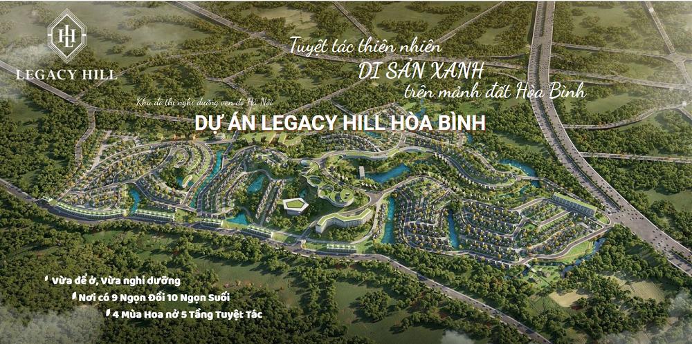 Legacy Hill Hòa Bình - Bảng Giá GỐC Trực Tiếp Đợt 1 CĐT An Thịnh