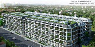 Phối cảnh dự án Liền Kề Hải Ngân - Thanh Liệt - Thanh Trì
