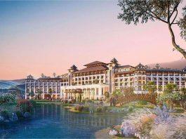 Phối cảnh lâu đài trung tâm dự án Vinpearl Tuyên Quang