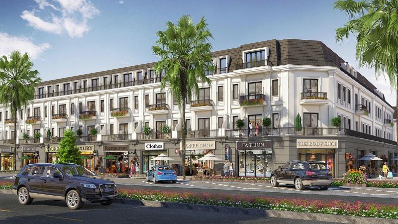 Phối cảnh nhà phố thương mại dự án Eco City Premia Buôn Ma Thuột