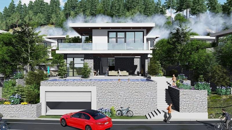 Phối cảnh Shophouse dự án Legacy Hill Lương Sơn - Hòa Bình
