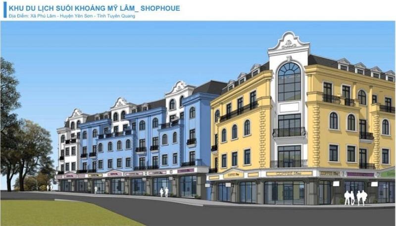 Shophouse Vinpearl Mỹ Lâm Tuyên Quang