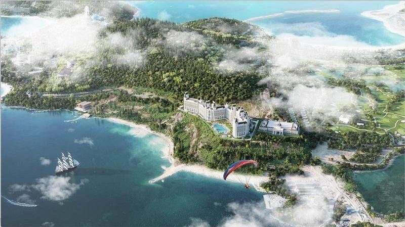 Phối cảnh Condotel Vinpearl Oasis Hòn Tre - Nha Trang