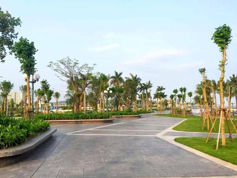 Quảng trường biển Marina cạnh dự án Harbor Bay Hạ Long