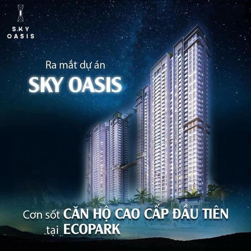 Ra mắt căn hộ cao cấp Sky Oasis KĐT Ecopark