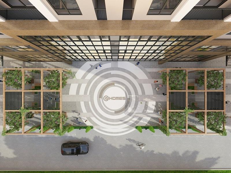 Sảnh dự án nhà ở xã hội NHS Phương Canh Residence