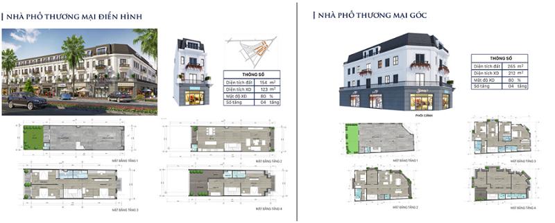 Thiết kế nhà phố thương mại dự án Eco City Premia Buôn Ma Thuột