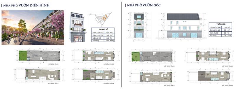 Thiết kế nhà phố vườn dự án Eco City Premia Buôn Ma Thuột