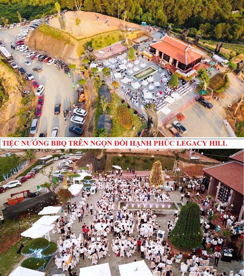 Tiệc nướng BBQ trên ngọn đồi hạnh phúc Legacy Hill Hòa Bình