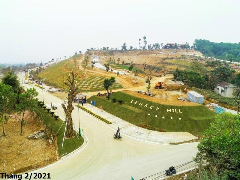Tiến độ Legacy Hill Hòa Bình tháng 2/2021