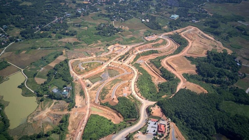 Tiến độ dự án 3 Legacy Hill Lương Sơn - Hòa Bình tháng 11/2020