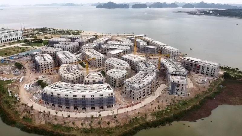 Tiến độ thi công dự án Harbor Bay Hạ Long 2020