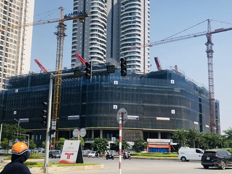 Tiến độ xây dựng Han Jardin N01-T6-T7 Ngoại Giao Đoàn 2