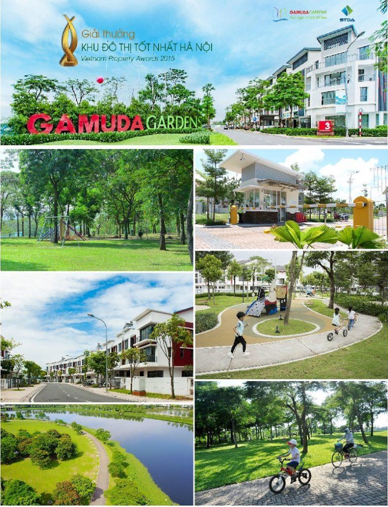 Tiện ích 1 chung cư The Dandelion Residence Gamuda Yên Sở