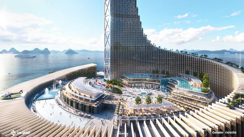 Tiện ích dự án Domino Hạ Long 99 tầng của Sungroup