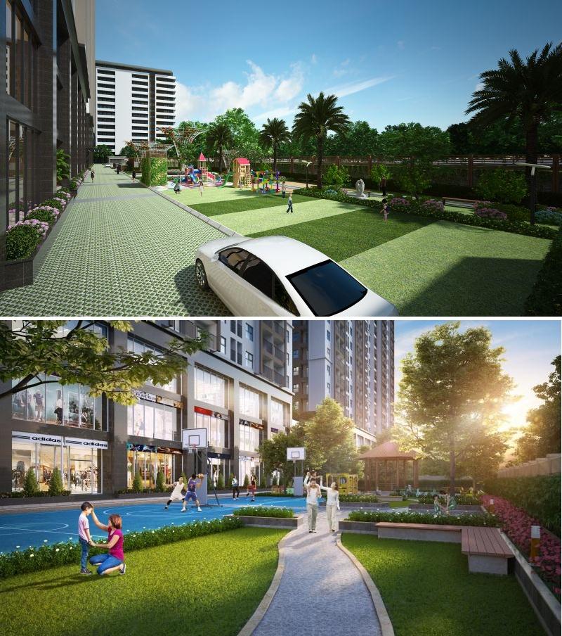 Tiện ích dự án Phương Đông Green Park số 01 Trần Thủ Độ