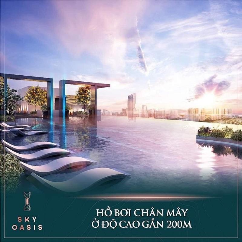 Tiện ích Hồ Bơi Chân Mây Sky Oasis KĐT Ecopark
