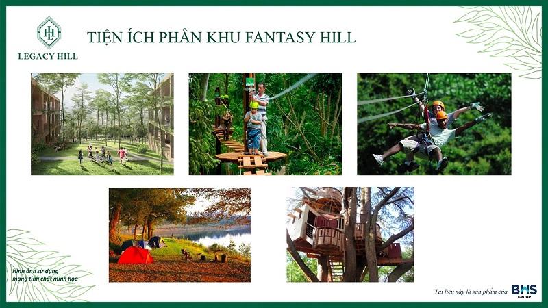 Tiện ích phân khu Fantasy Hill dự án Legacy Hill Lương Sơn - Hòa Bình