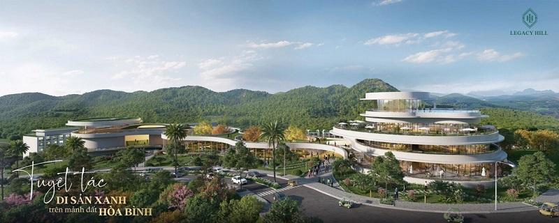 Trung tâm dự án Legacy Hill Lương Sơn - Hòa Bình