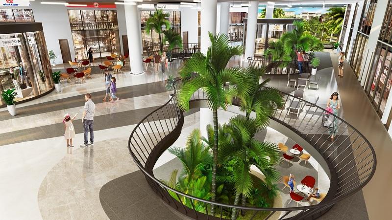 Trung tâm thương mại trong chung cư Harmony Square 199 Nguyễn Tuân