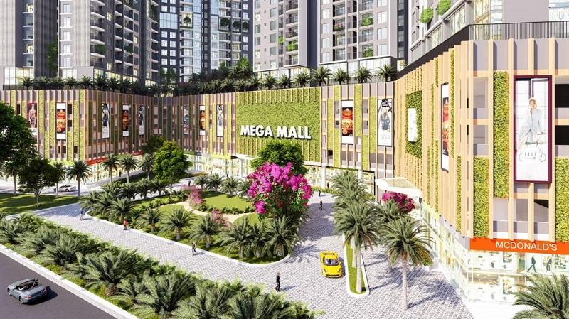 Trung tâm thương mại 2 chung cư The Dandelion Residence Gamuda Yên Sở