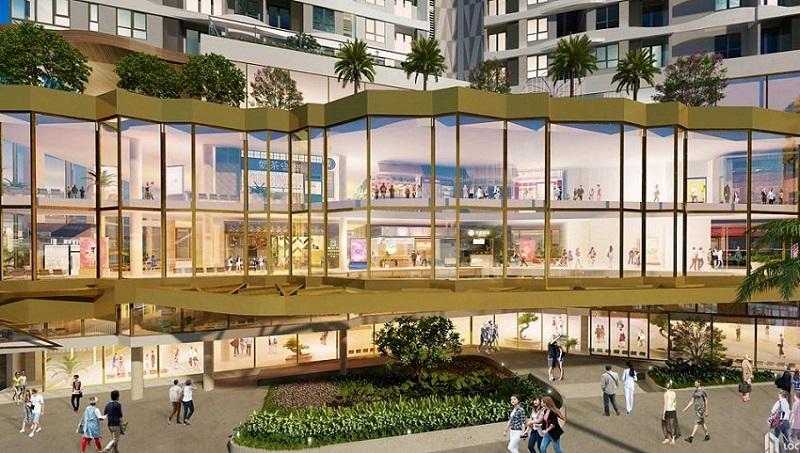 Trung tâm thương mại chung cư The Dandelion Residence Gamuda Yên Sở